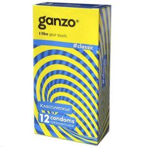 Презервативы Ganzo Classic №12 классические 12 шт
